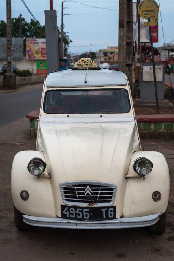 Taxi à Antananarivo, Madagascar photos libres de droits