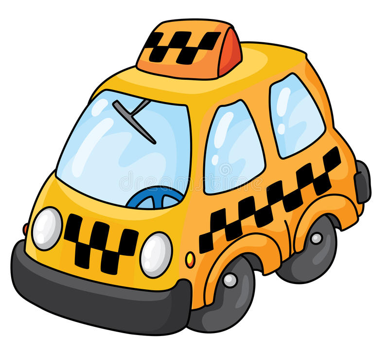 Taxi libre illustration