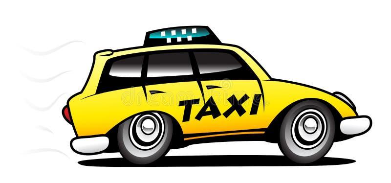 Taxi stock de ilustración