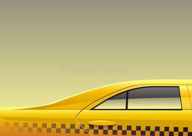 Taxi royalty-vrije illustratie