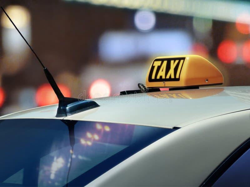 Taxi foto de archivo