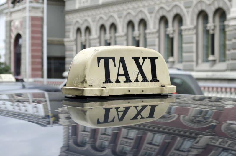 Taxi fotografía de archivo