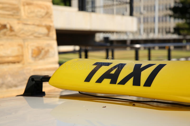 Taxi royaltyfri bild