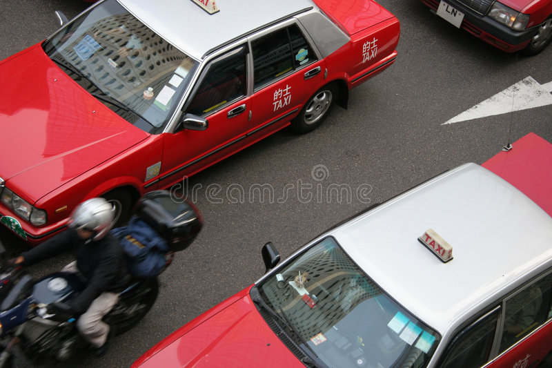 Taxi! royalty free stock image