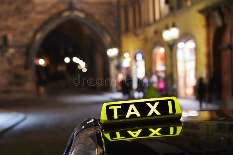 Taxi arkivbilder