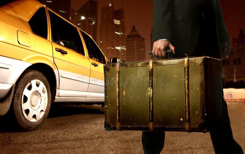 Taxi royalty-vrije stock foto