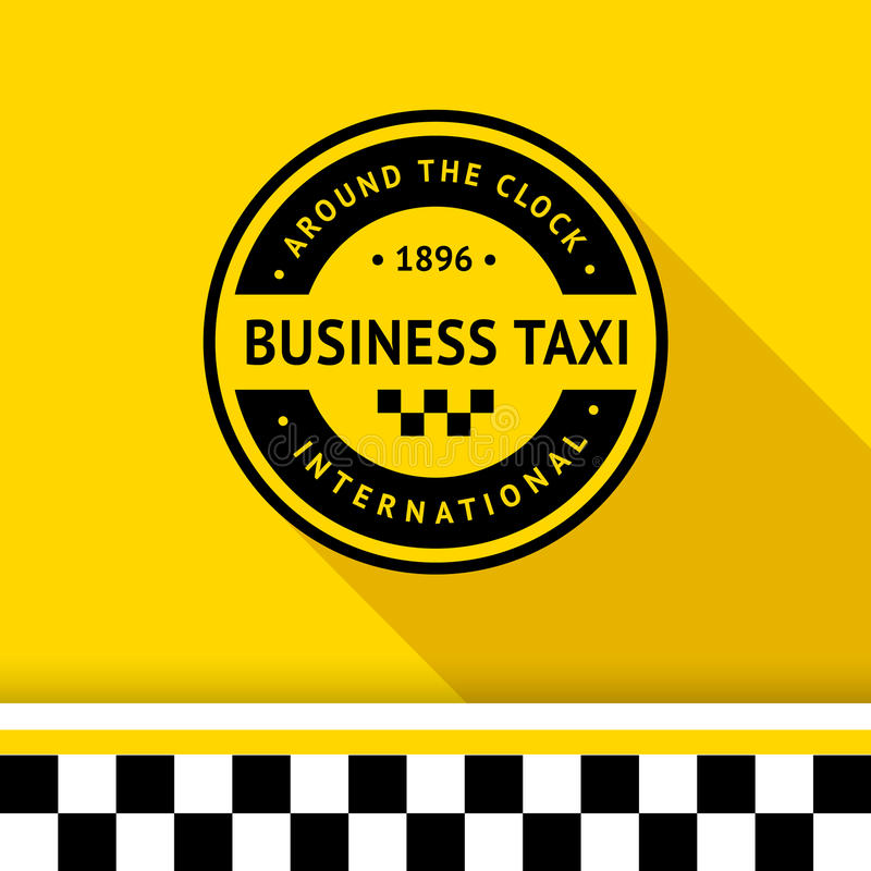 Taxi badge 15. Taxi badge with shadow - 15, vector illustration 10eps vector illustration
