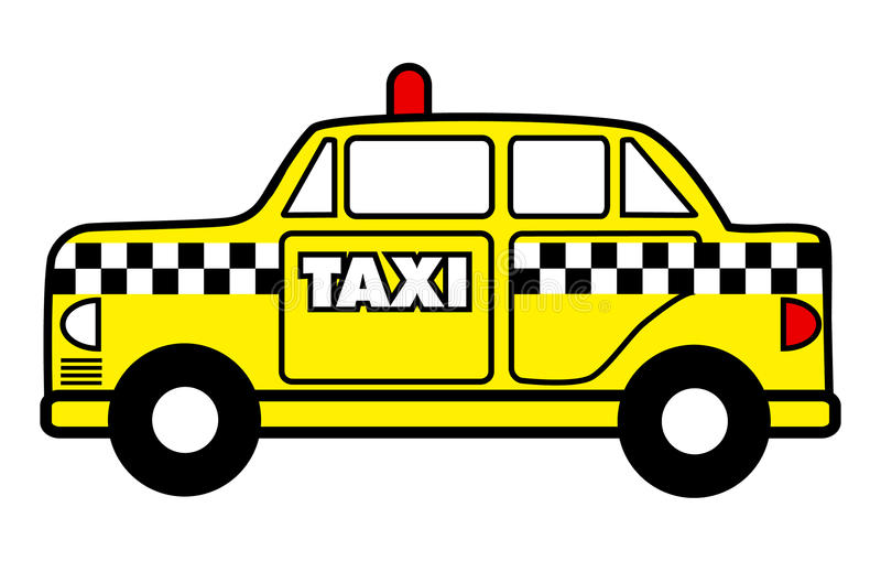 Taxi cab stock vector. Illustration - 49.5KB