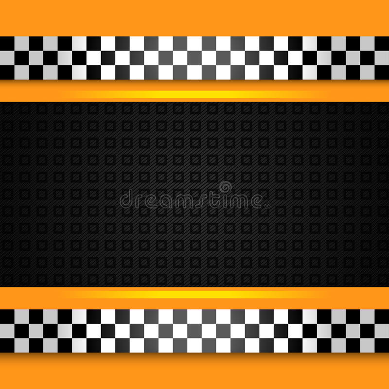 Taxi cab background close up. Vector 10 eps vector illustration
