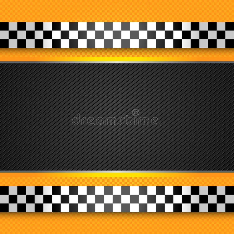 Taxi cab blank template. Vector design stock illustration