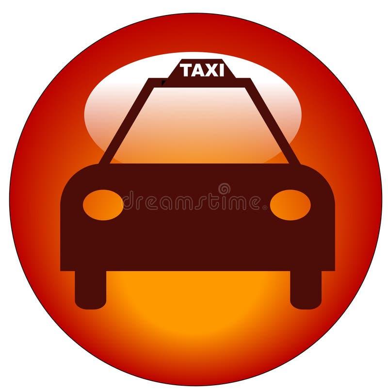 Taxi Cab Icon Stock Photo