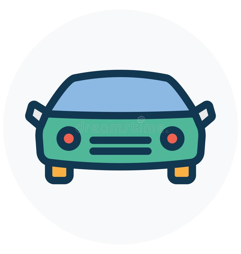 Taxi, cab Isolated Vector Icon that can easily Modify or edit vector illustration