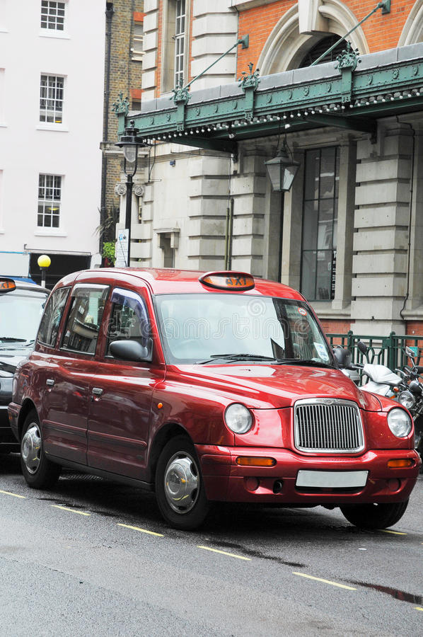 Download Taxi cab in London stock image. Image of cabbie, advertising - 25809813