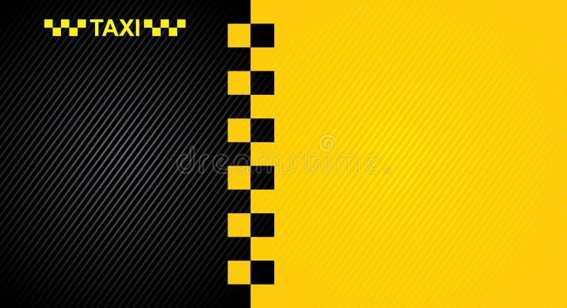 Taxi cab symbol stock illustration