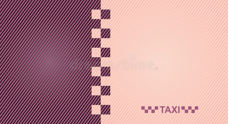 Taxi. Cab symbol on background carbon pattern royalty free illustration