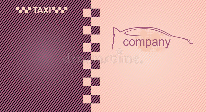 Taxi. Cab symbol on background carbon pattern stock illustration