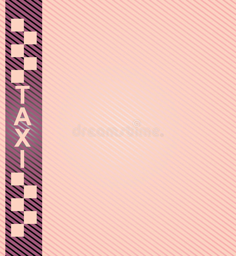Taxi. Cab symbol on background carbon pattern vector illustration