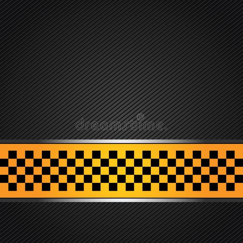 Taxi cab template. Vector design stock illustration