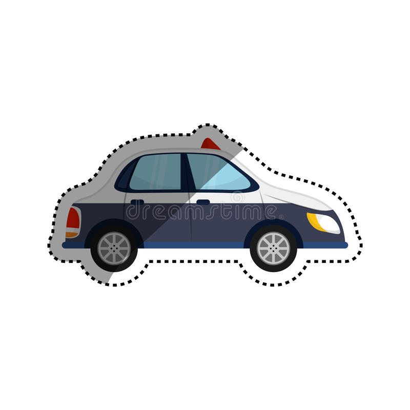 Taxi cab transport. Icon illustration graphic design royalty free illustration