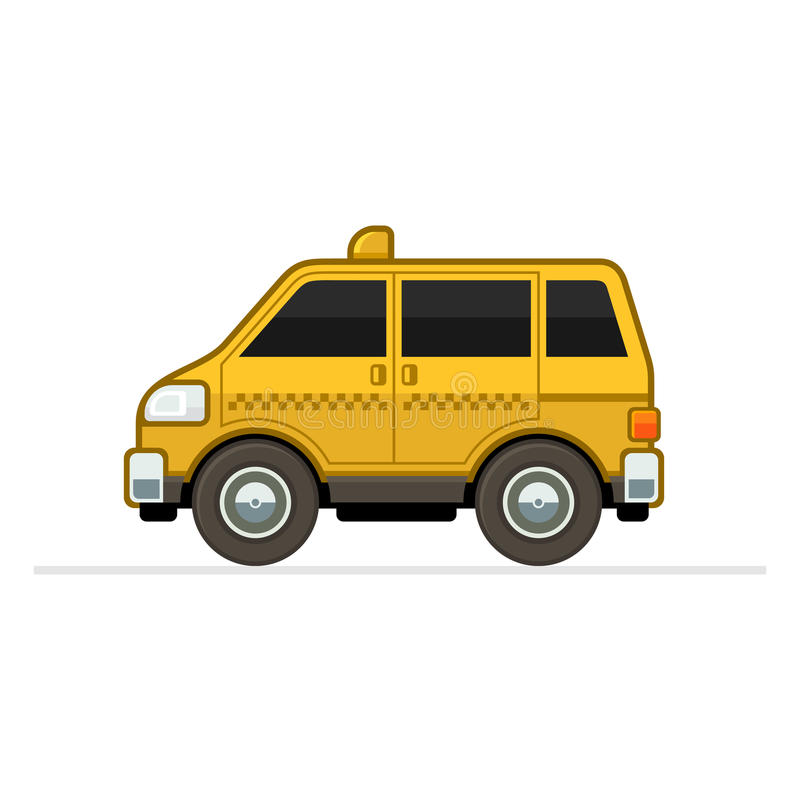 Taxi Car stock illustration