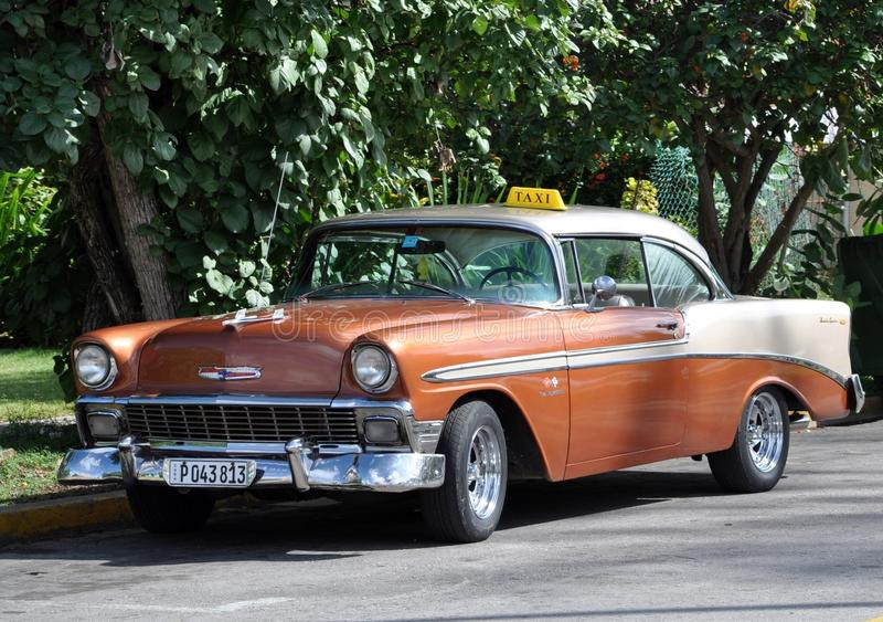 Taxi in Cuba royalty-vrije stock foto