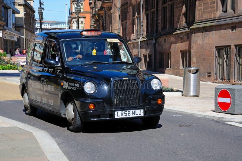 Taxi de Coventry fotografía de archivo libre de regalías