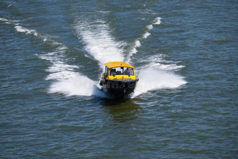 Taxi de l'eau de Rotterdam photos stock