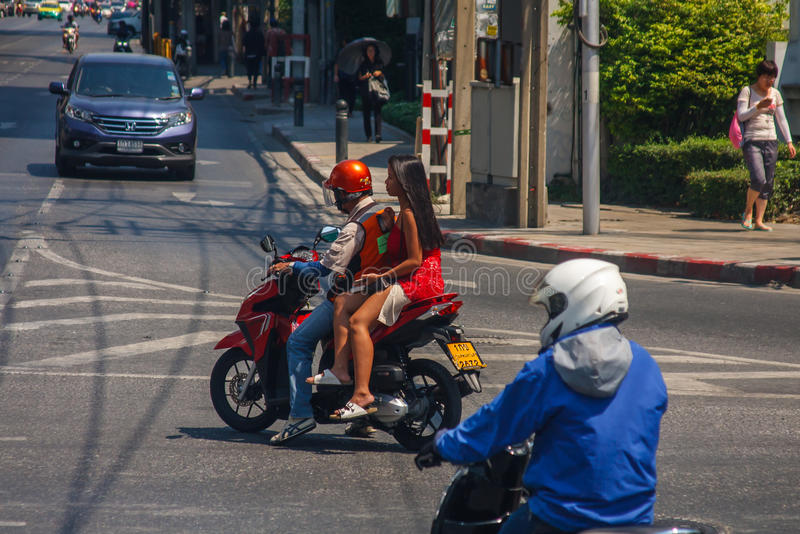Taxi de la motocicleta fotos de archivo libres de regalías