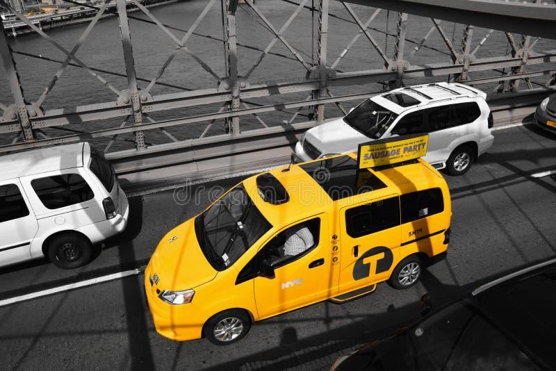 Taxi de New York images libres de droits