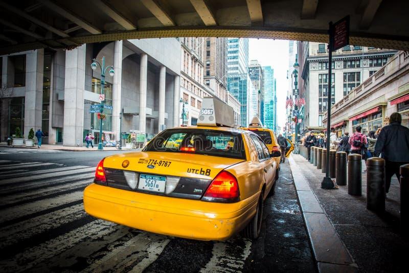 Taxi de New York City photos stock
