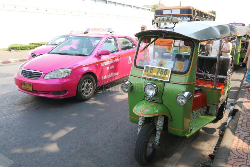 Taxi de Tailandia fotografía de archivo