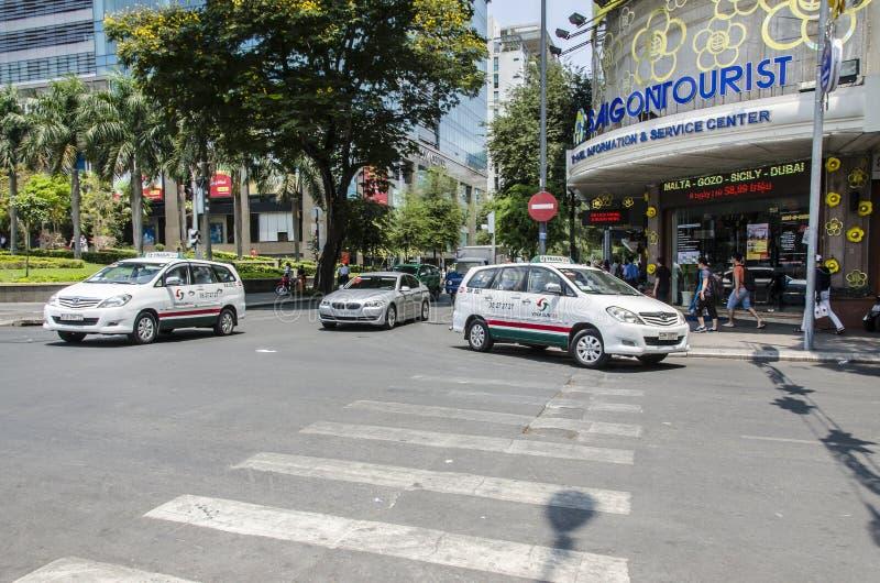 Taxi de touriste de Saigon photographie stock
