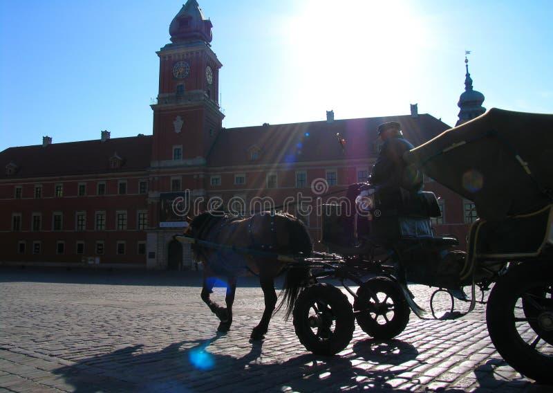 Taxi de Varsovie photographie stock