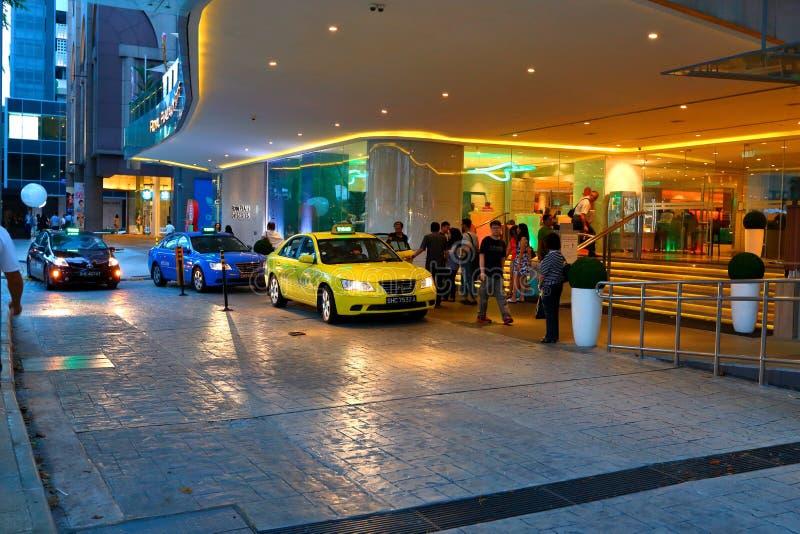 Taxi di Singapore immagine stock libera da diritti