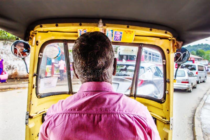 Taxi Driver dans Sri Lanka photo libre de droits