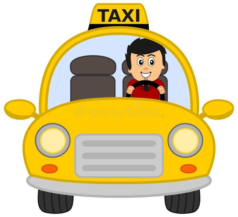 Taxi driver stock illustration. Illustration of dark ...