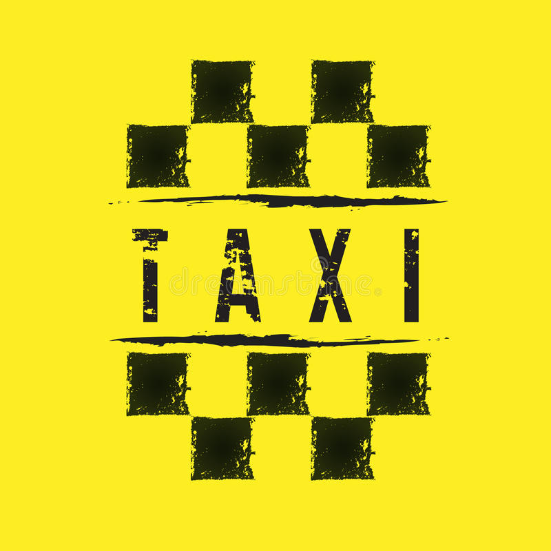 Taxi. Elements for design on the theme of Taxi vector illustration