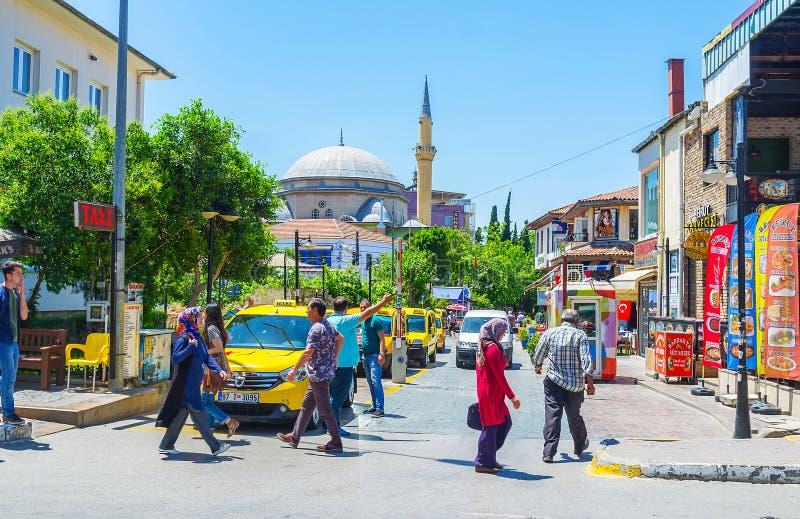 Download Taxi en Antalya fotografía editorial. Imagen de asia - 100530557