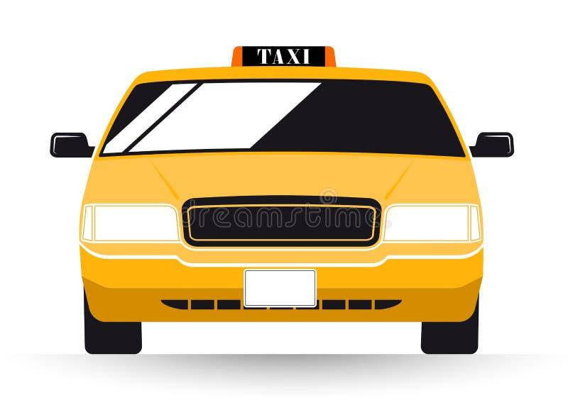 Taxi för New York gulingtaxi stock illustrationer