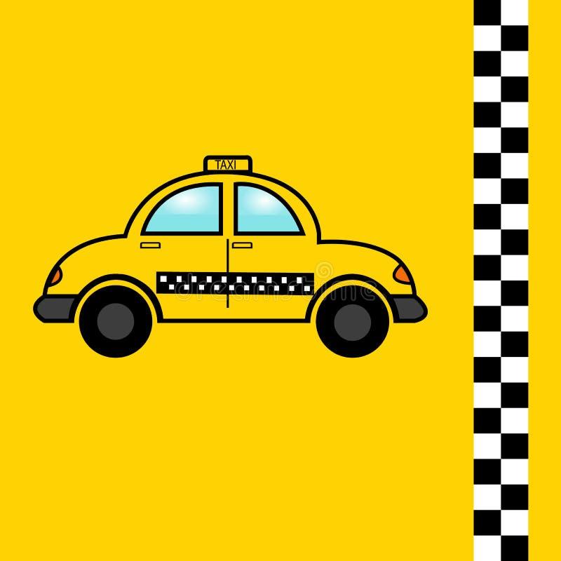 Taxi flat icon, vectors, car, symbol. vector illustration