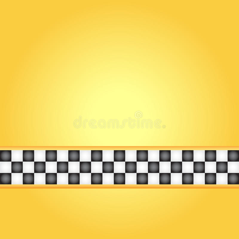 Taxi frame. Square taxi frame, illustration royalty free illustration