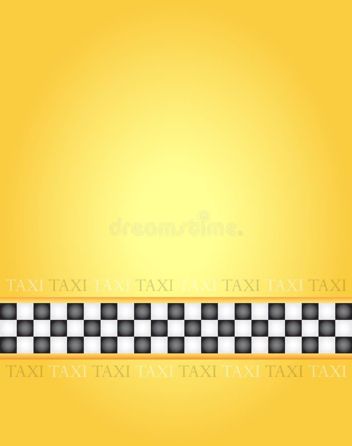 Taxi frame. Rectangle taxi frame, illustration vector illustration