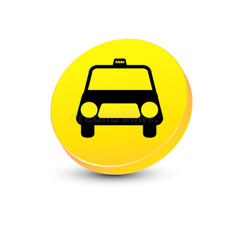 Download Taxi icon stock vector. Image of front, illustration - 17547914