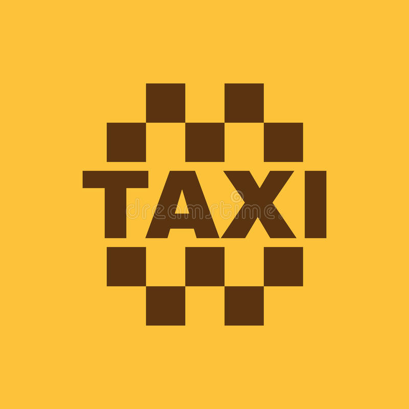 The taxi icon. Cab and taxicab symbol. Flat. Vector illustration vector illustration