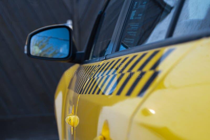 Taxi life - Hongarije stock fotografie