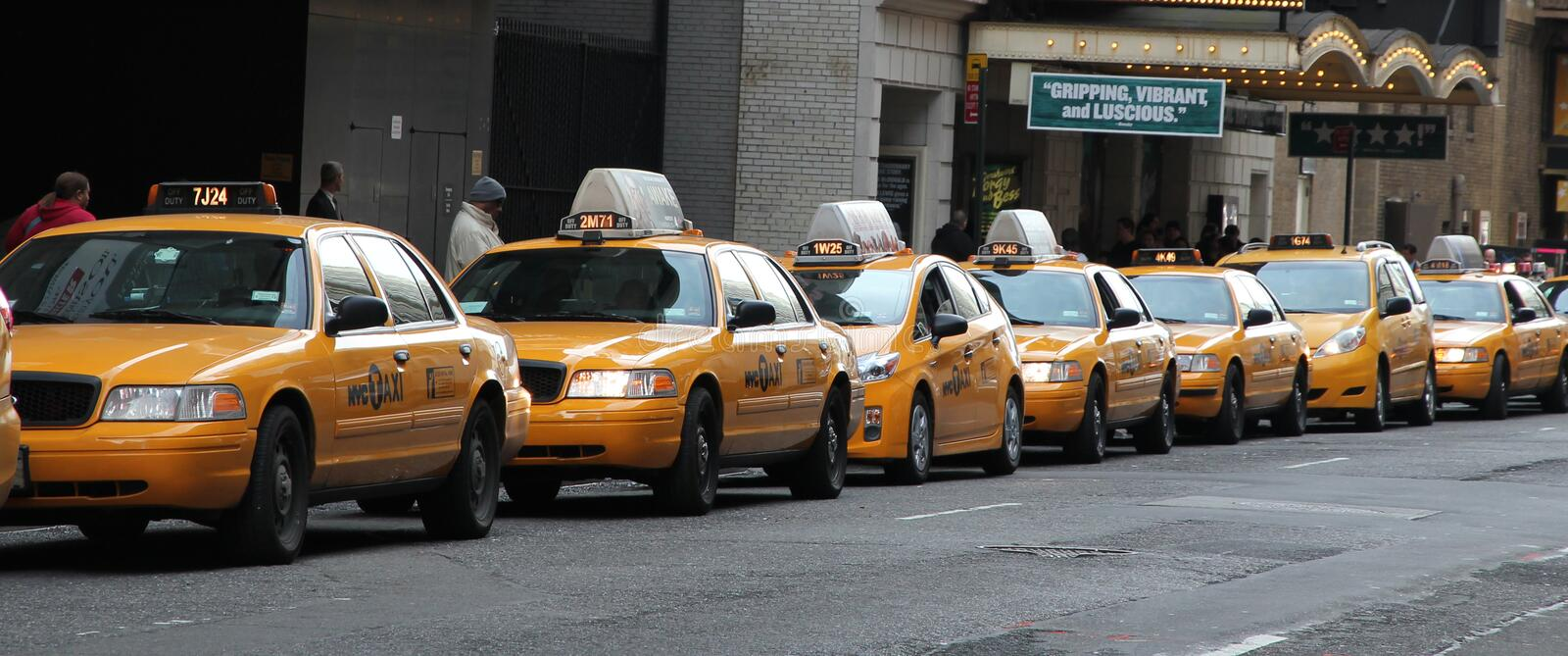 Download Taxi Line Editorial Stock Image - Image: 23505054