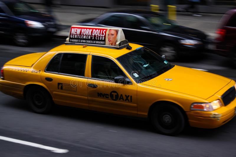 Taxi New York images stock