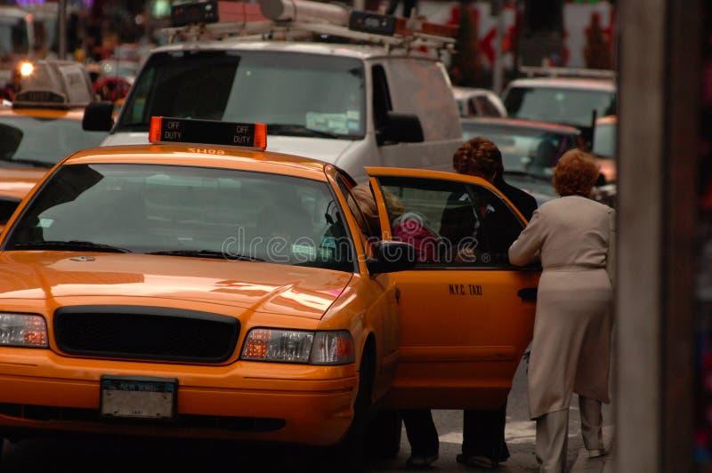 Taxi NYC royalty-vrije stock afbeeldingen