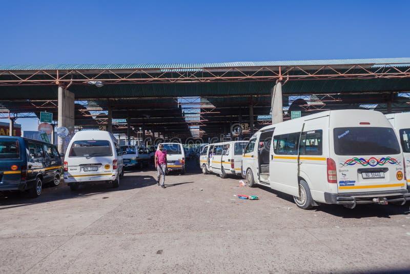 Taxi pojazdów parking kategoria zdjęcie stock