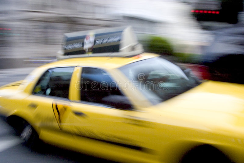 Taxi rapide photo libre de droits